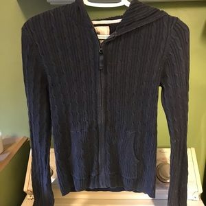 Girls old navy hooded sweater